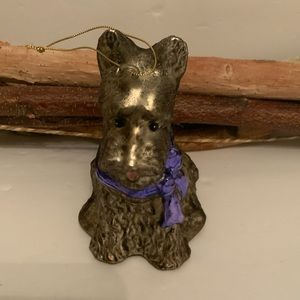 Other - Sweetest Scotty with purple bow ornament.
